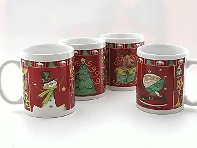 (1986) Keramik-Weihnachtstasse