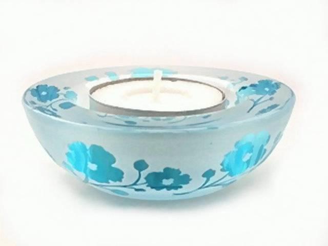 Pajoma Teelichthalter Blueflower